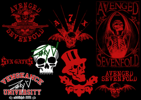 Avenged Sevenfold Brushes by A7XwOrLdDoMiNaTiOn