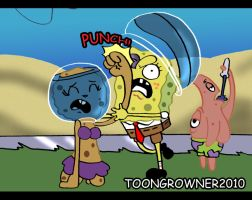 Sponge Sandy Cheekspants by toongrowner