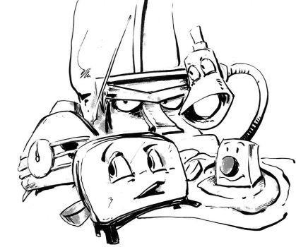 brave little toaster coloring pages - photo#14