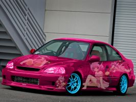 Mew Ichigo Honda Civic by JohnnyXLunaandRD