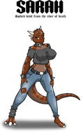 Hellcreeker no 1 Sarah by Lordstevie