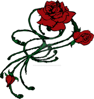 Roses and Thorns Design by Ds-Designs-on-DA