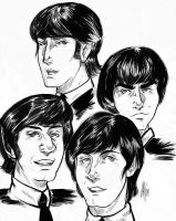 The Beatles by D-MATSUYAMA
