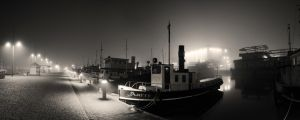 Harbor Panorama by Smattila