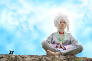 Jiraya, boyhood (Naruto) by Applewolf2014