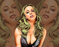 Mariah Carey Wallpaper by madstoner