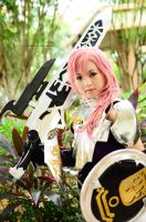 Final Fantasy, Lightning: Knight of Valhalla by cure-pain