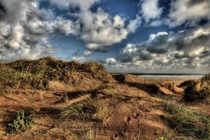 Dunes and Sky by Zan61