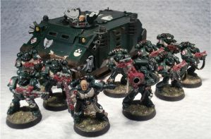 3rd Tactical Squad, 4th Company, 1st Legion by Elmo9141