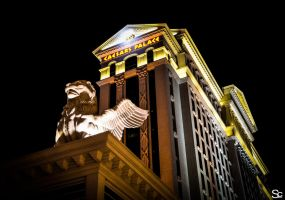 Caesars Palace Griffin by ShannonCPhotography