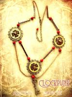 Another Clockpunk Necklace by Verope