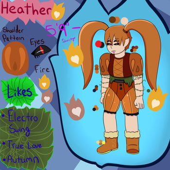 Heather Reference sheet by HDDoesGaming