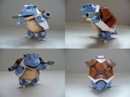 Pokemon- Blastoise by savaskul