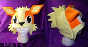 Arcanine Hat by SmileAndLead