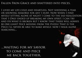 My Fall From Grace by TheWarRises