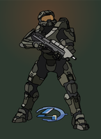 Halo 4 Master Chief Poster [HQ] by malde37