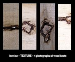 - TEXTURE - wood knot by Von-Chan