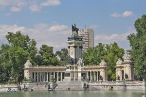 Monument to Alfonso XII (Parque del Retiro) by vvh1827sf