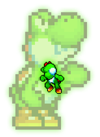 New Update of Yoshi's Extra Poses by Legend-tony980