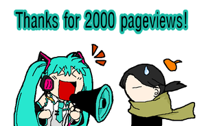 thanks for 2000 pageviews by buta0309