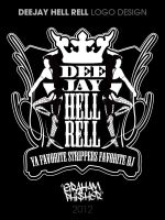 DeeJay Hell Rell Logo Concept 1 by GrahamPhisherDotCom