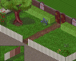 Furcadia Patch - Picket Fences by Linnet