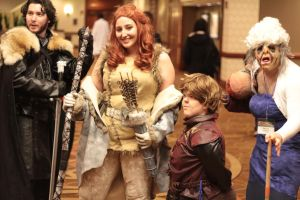 Anime Boston 2013 - Game of Resident Evil 1 by VideoGameStupid