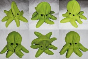 Green Spelt Octopus by Gajia