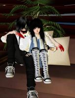 =Me and Jeff= by tatin12