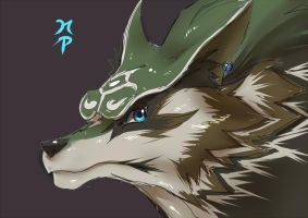 Wolf Link by ManiacPaint