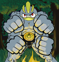 Machamp by Seraphim-Rayn
