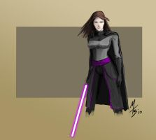 Krath Dark Jedi: Female Human by borkweb