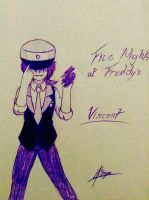 Five Nights at Freddy's Vincent by UnitInfinity