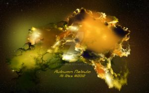 Autumn Nebula Wallpaper by Casperium