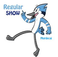 RegularShow- Modecai by tacofacedrawer