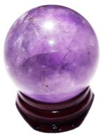 My Amethyst Crystal Ball by purrrplcat