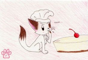 Chef taste testing by TOM-CATS