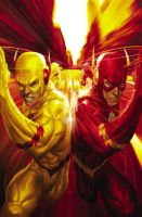 Flash Reverse Flash Zoom ARTGERM by DeevElliott