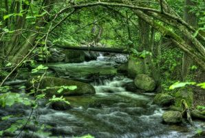 Glowing green by Baltagalvis