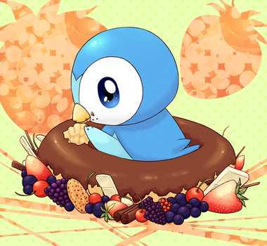 Pokemon - Piplup by nymei