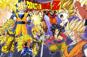 Dragon Ball z by amethyst3