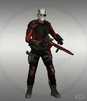 Injustice IOS - Deadshot suicide squad by Bringess