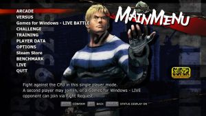 SSF4 AE Cody Menu by Augh
