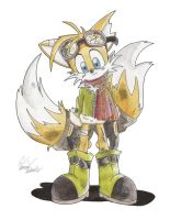 Tails in Silent Hill...I guess by AmaterasuOmikami