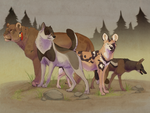 Characters of Evian by DawnFrost