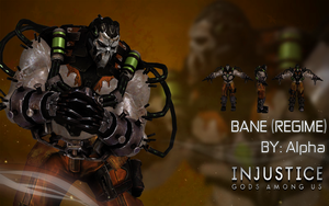 Injustice Gods Among Us: Bane (Regime) by XNASyndicate