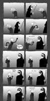 Even Death has a biro. by H-Ell