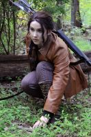 Katniss Everdeen - Tracking by moonflower-lights