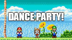 Mario and Luigi Dance Party + Cream by Toad900
