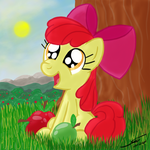Applebloom - Can I Haz Hugz by Template93